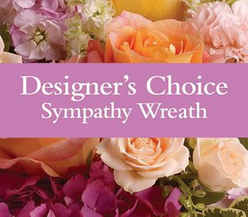 Our designers Sympathy Wreaths for funerals and wakes