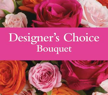 Code: D2. Name: Designers Bouquet. Description: Let our florist design a floral Bouquet for you. Price: NZD $60.90 - NZ Wide Delivery