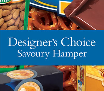 Code: D24. Name: Aorangi Hospital Store Savoury Hamper. Description: Let our designer make up a savoury hamper using locally sourced savoury goodies. Price: NZD $107.90 - Category: Shop Choice